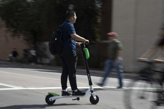 Problems With New Public Electric Scooters