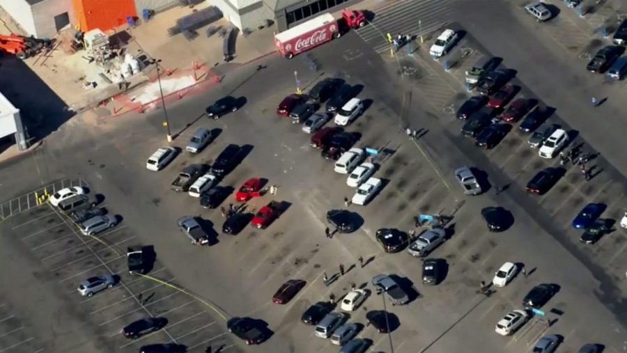 Shooting at Walmart Parking Lot Leaves Three People Dead