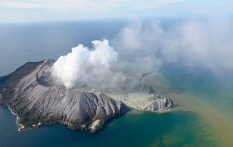 Volcano Eruption at Island in New Zealand Causes Disaster