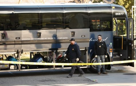 Greyhound Bus Shooting in California